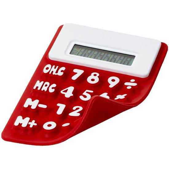 Calculator flexibil - rosu