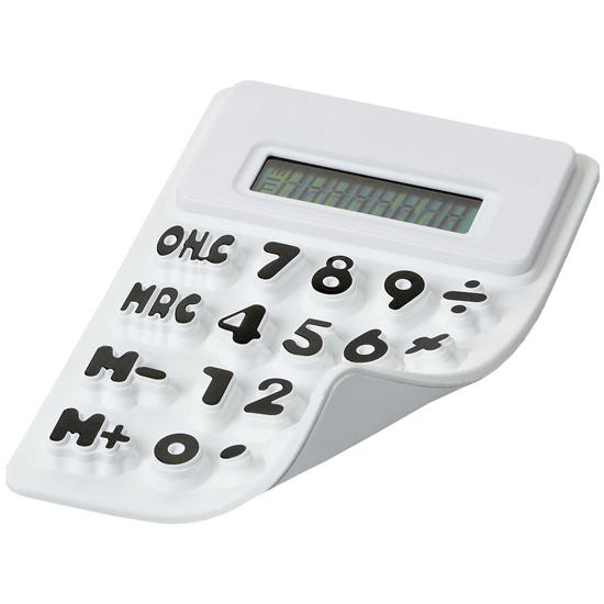 Calculator flexibil - alb