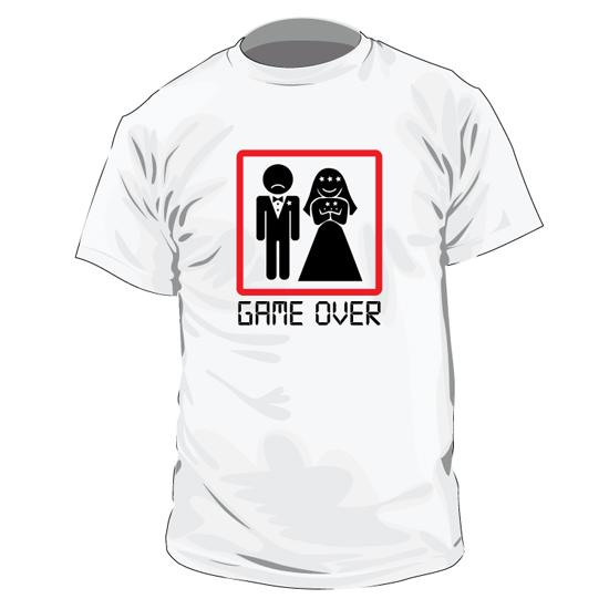 Tricou Game Over