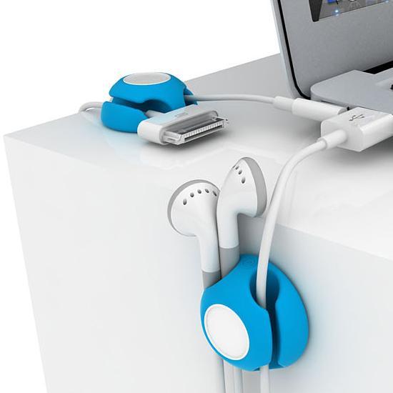 Organizator cabluri Clippi - albastru