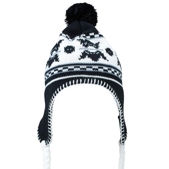 Caciula norvegiana - negru/alb