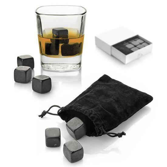 Cuburi bazalt natural pentru whisky