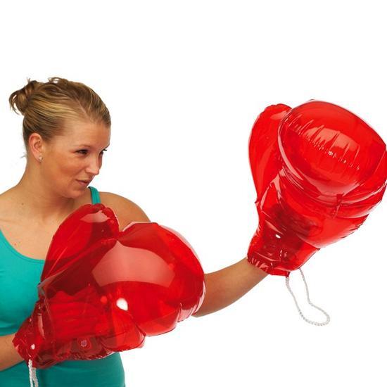 Manusi gonflabile pentru box