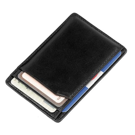 Port credit card ultraslim - negru