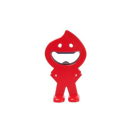 Deschizator Smiley - rosu
