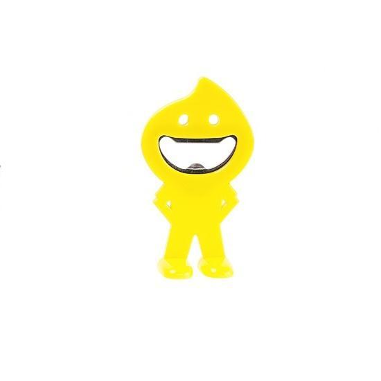 Deschizator Smiley - galben