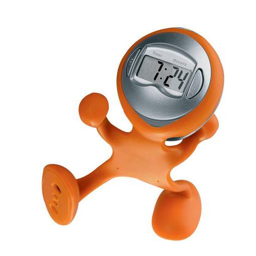 Ceas flexibil - portocaliu